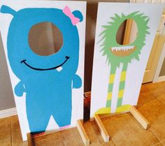 Monster photo booth by MonsterBirthday on Etsy