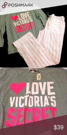 🌺VICTORIAS SECRET PAJAMA SET 🌸NEW VS PAJAMA SET 🌺MAYFAIR POCKET PANTS 🌸NO PAYMENTS OUTSIDE OF POSH 🌸 NO TRADES 🌺PRICE IS FIRM 🌺BUNDLE & SAVE Victoria's Secret Intimates & Sleepwear Pajamas
