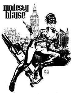 Modesty Blaise - Ron Salas