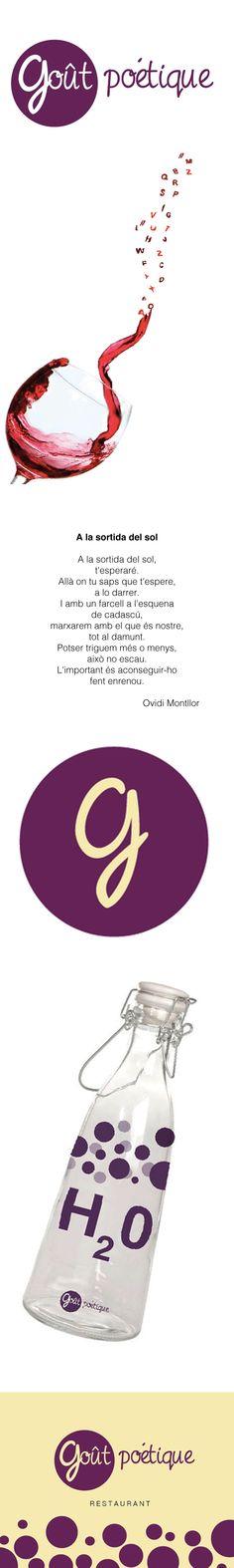 Goût poétique. Projecte (marca inventada) de Direcció d'Art en Publicitat de la Facultat de Comunicació Blanquerna, 2013