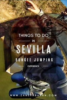 Get idea about things to do in Sevilla, Spain. I would like to propose you - bungee jumping! Experience of your travel, only for adrenaline freaks. Travel Advice, Travel Tips, Backpacking Spain, Stuff To Do, Things To Do, What Motivates Me, Spain Culture, Spain Travel Guide, List Challenges
