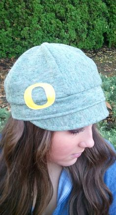 Womens Oregon Ducks Hat. $37.75, via Etsy.