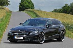 Mercedes-Benz CLS 63 AMG Shooting Brake by Väth  #mbhess #mbcars #mbtuning #vaeth
