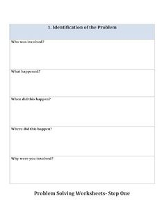 Printables Problem Solving Skills Worksheets problem solving the ojays and teaching on pinterest