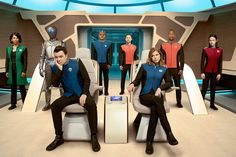 Fox sci-fi dramedy. 400 years in the future - follows the adventures of the U.S.S. Orville, an exploratory vessel with a crew of humans and aliens led by a recently divorced officer (MacFarlane) taking command for the first time. A