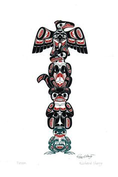Totem native art