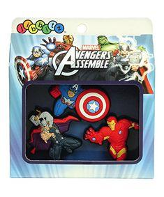 86a68fb18 Marvel Avengers Jibbitz Crocs Shoe Charm Set   Thor