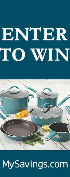 Win a Rachael Ray Cookware Set #Giveaway US http://swee.ps/OjYlLFlA
