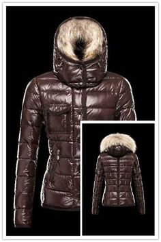 Hot Sell Moncler Armoise Down Jackets For Women Brown Shop Online Store dd840d6c0f3