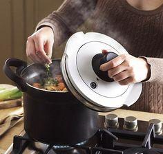 Pressure Cooker Recipe database. How to convert non-pressure cooker recipes, etc.