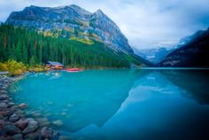 Autumn time in Lake Louise, Ab