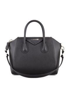 Antigona Large Sugar Goatskin Satchel Bag, Black by Givenchy  - this may be my favorite bag!