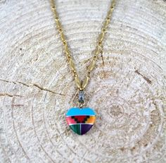 Im obsessed with Aztec jewelry right now! Aztec Jewelry, Tribal Necklace, Love Necklace, Indian Jewelry, Pendant Necklace, Mexican Jewelry, Southwestern Jewelry, I Love Heart, Native American Jewelry