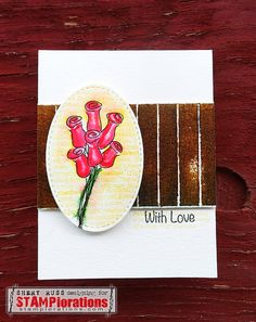 Card by Shery featuring Rosebuds - Blog Hop Day 1