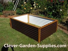 A shopper's guide to the 6 main types of garden beds and what you need to know about them before you decide to buy a raised garden bed. The product analysis reviews buying risks such as UV resistance, longevity, soil depth, affordability, wood preservatives safety risks, rust and dry rot. http://www.clever-garden-supplies.com/