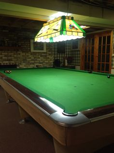Brunswick Gold Crown Snooker Table