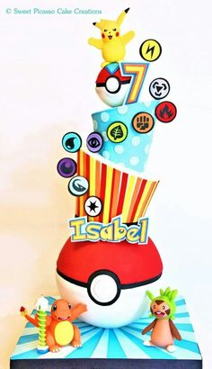 Pokemon cake                                                                                                                                                                                 More