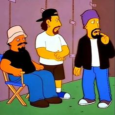 Somebody ordered the London Symphony Orchestra possibly while high? Cypress Hill i'm looking in your direction. Tv Shows Current, London Symphony Orchestra, Cypress Hill, Film Movie, Movies, The Simpsons, Favorite Tv Shows, Ronald Mcdonald, Hip Hop