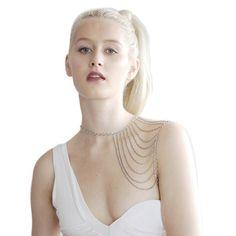 Cadeia de borla corpo de metal sexy cadeia ombro moda jóias cadeia de atacado barato simples de pele quente de venda em Jóias Corpo de Jóias em Aliexpress.com | Alibaba Group