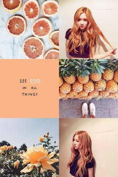 Rosé [blackpink] ; aesthetic