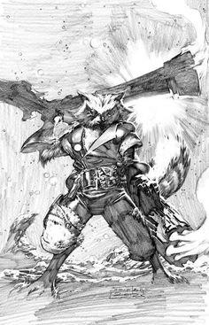 Rocket Raccoon by Philip Tan