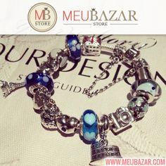 Lindos charms, berloques, beads murano, clipes e muito mais! Vem ver: http://meubazar.com