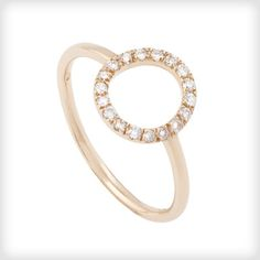 Rachel Entwistle Small Bone Rose Gold Ring httpwwwcottonandgems