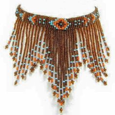 Eagle Spirit Native American Store - Beaded Necklaces Make Headband Native Beadwork, Native American Beadwork, Native American Jewelry, Native American Store, Native American Crafts, American Art, Beaded Choker Necklace, Fringe Necklace, Beaded Necklaces