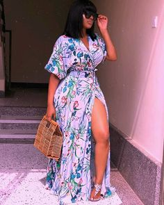 ankara stil The most fashionable Ankara Styles for girls in African Wear Dresses, Latest African Fashion Dresses, African Print Fashion, Ankara Fashion, Africa Fashion, African Prints, African Attire, African Fabric, Classy Dress