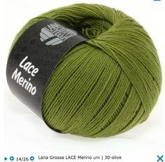 Lana Grossa Lace Merino  100% шерсть мерино экстрафайн 400 м / 50 г Спицы 3 - 3,5 мм 119,95 грн.