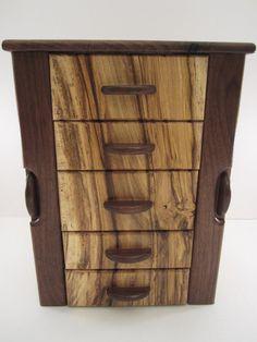 Texas Style Jewelry Box Number 2 Improved. - by Blackie_ @ LumberJocks.com ~ woodworking community