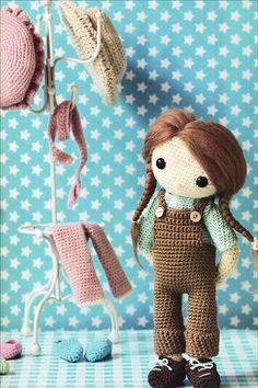 My Crochet Doll from KnitPicks.com Knitting by Isabelle Kessedjian