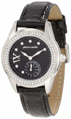 Pierre Cardin Women's PC104272F01 International Diamond Bezel Watch Pierre Cardin. $59.50. Water-resistant to 99 feet (30 M). Citizen 1L45 movement, 3 hand. Durable mineral crystal protects watch from scratches. Made from durable stainless-steel. Case diameter: 33 mm. Save 50% Off!