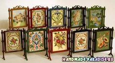 Миниатюрная вышивка. Схемы вышивки для саше. Схемы миниатюрной вышивки цветов можно применить для вышивки панно, открыток, тегов, саше, подушечек и мешочков