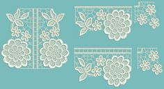 TS662 - Tuscany Lace Corners & Edgings Set 1