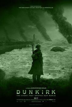DUNKIRK is een Amerikaans-Brits-Frans-Nederlandse oorlogsfilm uit 2017, geschreven, geproduceerd en geregisseerd door Christopher Nolan en gefilmd door Hoyte van Hoytema.  Hoofdrollen o.a. Fion Whitehead, Tom Glynn-Carney en Harry Styles.