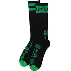 Creature Hesh Crue Socks (Size 9-11/Black/2 Pairs) $16.95