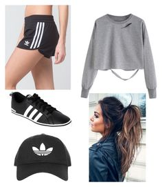 """""""Untitled #6"""" by courtneycat17 on Polyvore featuring adidas and Topshop"""