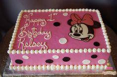 (497) Minnie Mouse Sheet Cake
