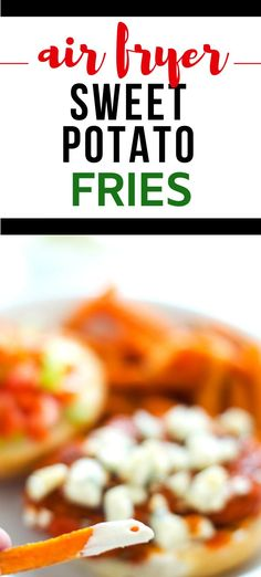 You are going to go nuts for these Air Fryer Sweet Potato Fries! They are basically impossible not to love. Crispy on the outside, tender on the inside, these fries will become a habit you feel good about. No air fryer? No worries! I've got oven instructions too. Gluten Free Recipes For Dinner, Healthy Gluten Free Recipes, Dinner Recipes, Air Fryer Sweet Potato Fries, Air Fryer Healthy, Veggie Side Dishes, Breakfast Options, Air Fryer Recipes, Food To Make