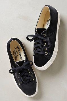 Superga Satin Sneakers - anthropologie.com