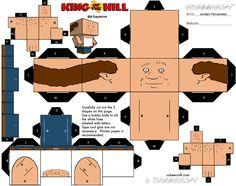 Bill Dauterive Cubee Template by jordof131 on DeviantArt