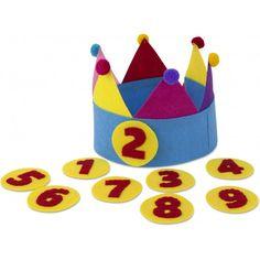 KiddyColors : verjaardagsmuts-multicolour