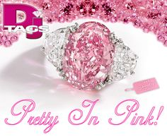 """""""Pretty in Pink"""" jewelry tags"""