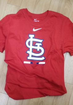 Nike St Louis Cardinals Red Legacy Short Sleeve T Shirt - 17320714