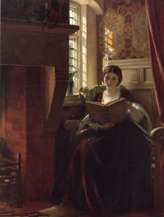 A Pleasant Corner by John Callcott Horsley