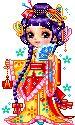 Imágenes animadas con Geishas. Gifs animados de Geishas como estas coloridas imágenes animadas con Geishas que podrás enviar gratis online como postal virtual. Animados gif japon…
