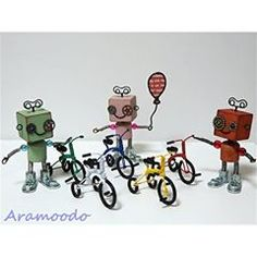 ♥ ~ mini三輪車 ~  #wire #wirecraft #craft #crafts #handmade #tricycle #tricycles #woodrobot #ワイヤー #ワイヤークラフト #針金 #ワイヤーアート #針金アート #ワイヤー雑貨 #ワイヤークラフト雑貨 #ハンドメイド #木工ロボット #三輪車 Yoshi, Fictional Characters, Fantasy Characters