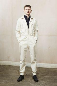 A.P.C. Fall 2016 Menswear Fashion Show. Black Shoes At The White Shows.