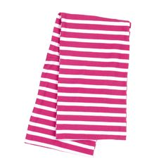 Infinity Stripe Scarf Hot Pink - LeSuer Gift Company